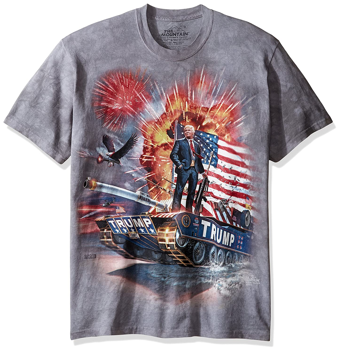 493220b0 The Mountain Men's the Epic Trump Adult T-Shirt | Amazon.com