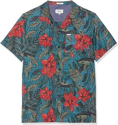 Pepe Jeans Everett Camisa, Multicolor (Multi 0Aa), XX-Large para Hombre: Amazon.es: Ropa y accesorios