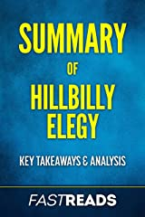 Summary of Hillbilly Elegy: Includes Key Takeaways & Analysis Kindle Edition