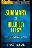 Summary of Hillbilly Elegy: Includes Key Takeaways & Analysis