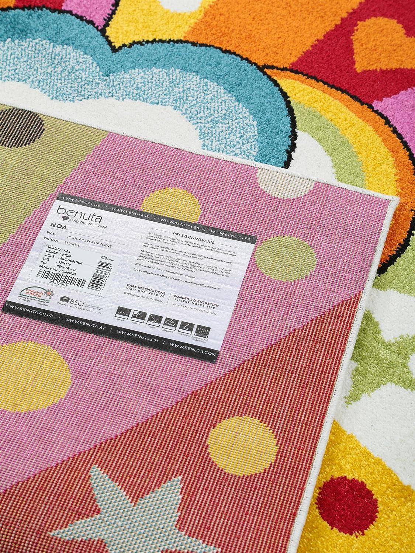 Benuta Kinderteppich Noa Universe Multicolor 160x230 cm cm cm   Teppich für Spiel- und Kinderzimmer d38b62