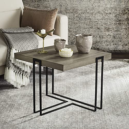 Safavieh Pitt Midcentury Scandinavian Wood End Table