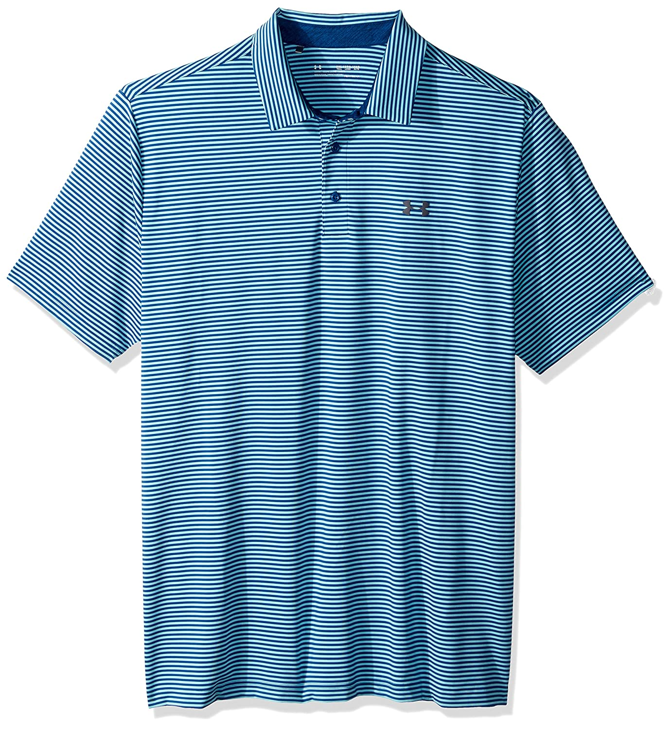 Under Armour Mens Playoff Polo, Lumos Lime (714)/Rhino Gray ...