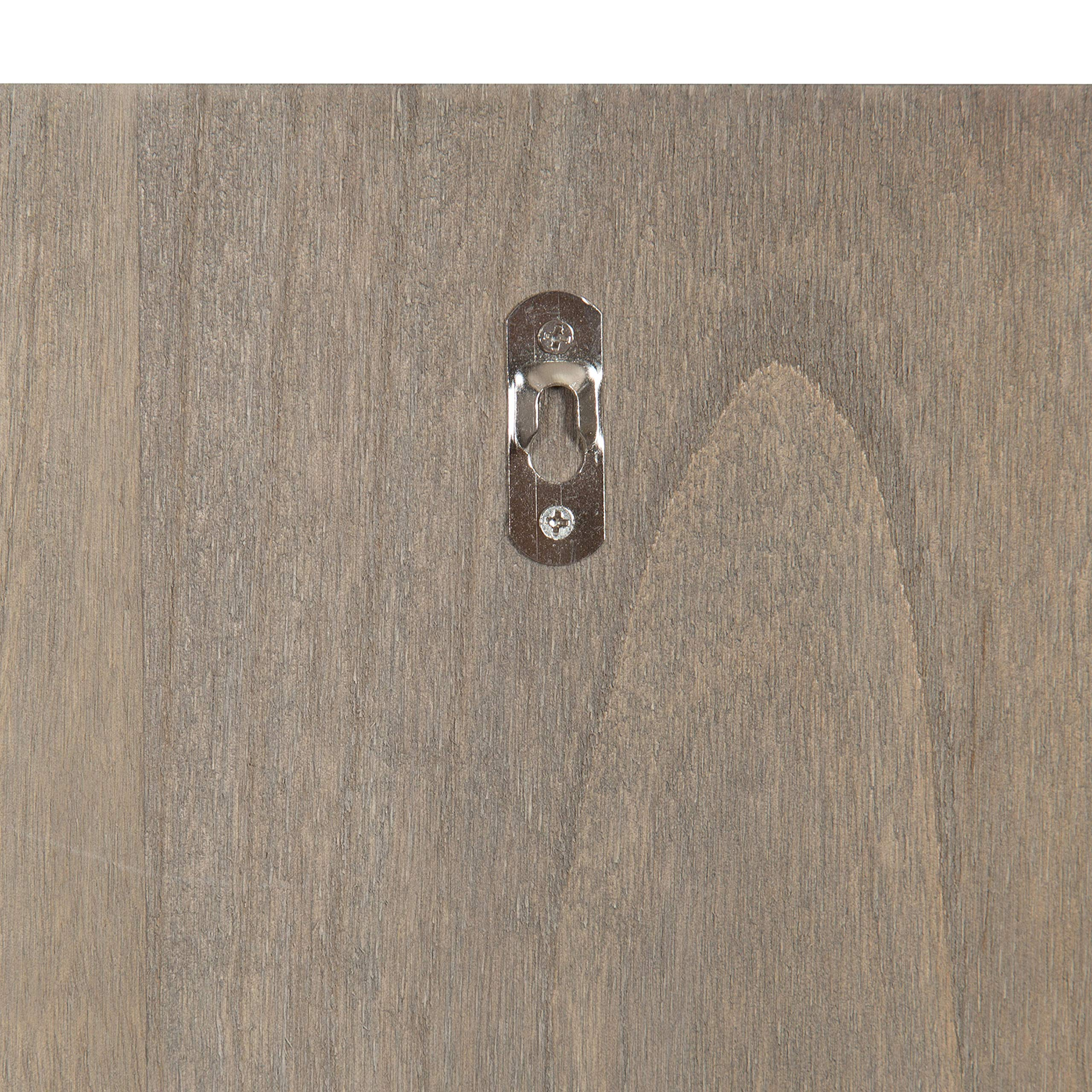 Kate and Laurel Growth Chart 6.5' Wood Wall Ruler, Gray by Kate and Laurel (Image #4)
