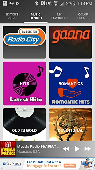 Amazon com: Hindi Radio - Top Desi Indian FM Radios