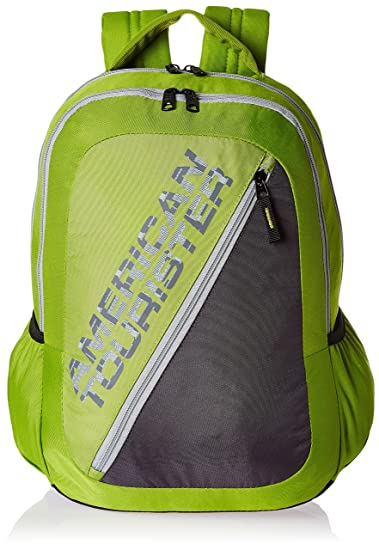 49dd8fb7c3e5 Image Unavailable. Image not available for. Colour: American Tourister 25  LTS Lime Green Casual Backpack ...
