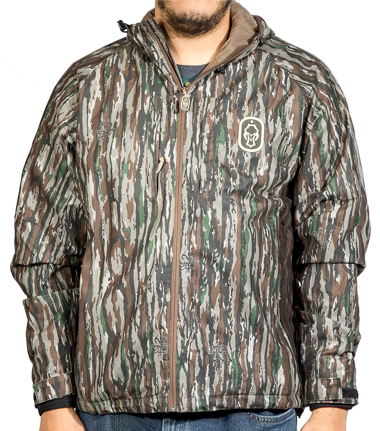 ハードコアブランドSeason OpenerフルZipジャケット B078JD2S47 Medium|Realtree Original Realtree Original Medium