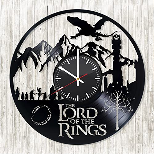 Amazon.com: The Lord of the Rings Vinyl Record wall clock - Get ...