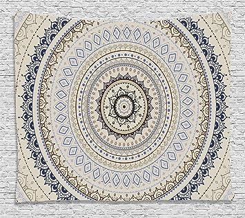Amazon.com: Mandala Decoración Tapiz Por ambesonne ...