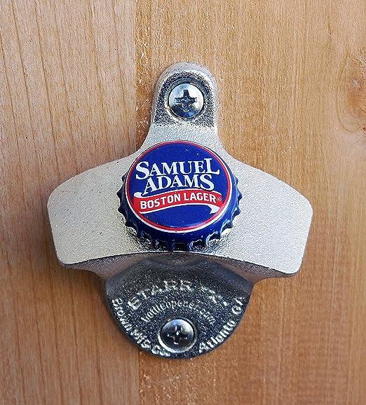 Key Chain Metal Bottle Cap Opener ~ BOSTON Beer Co Samuel Adams ~ For the Love