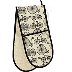 Le Tour Bicycle Double Oven Glove
