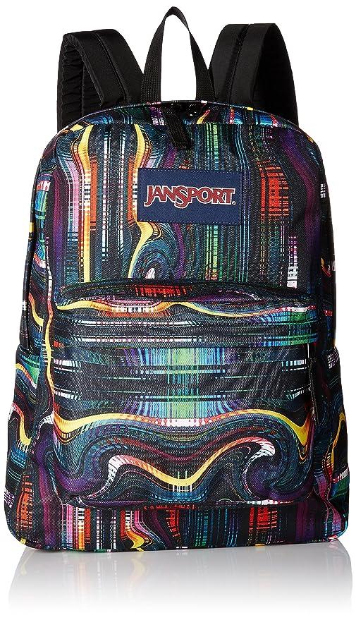 Amazon.com  JanSport Unisex SuperBreak Multi Frequency Backpack ... 7b9cbccc057ed