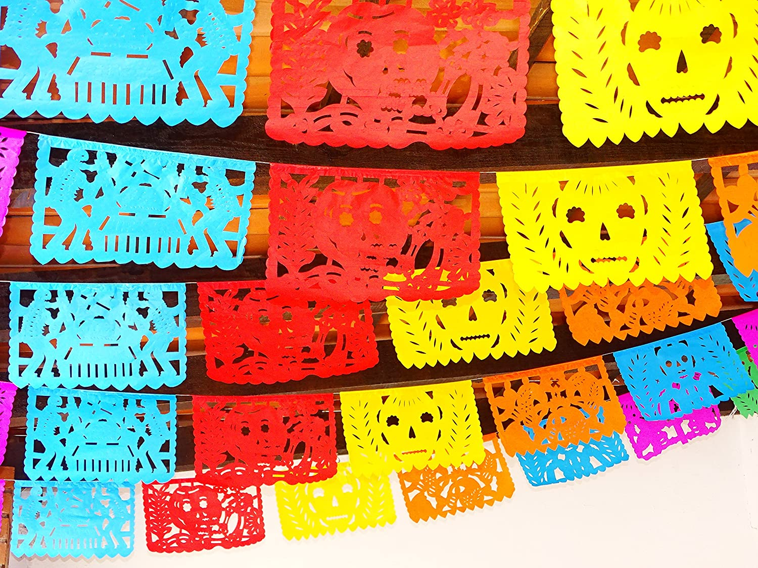 Amazon Day Of The Dead Banners Party Decorations Dia De