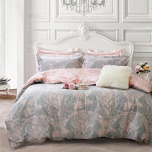 Amazon Com Brandream Blush Pink Girls Bedding Set 100 Cotton