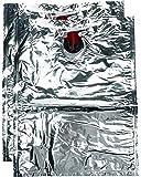 Laboul Distributeur de boisson Bag-in-box 2 sacs vides Argenté