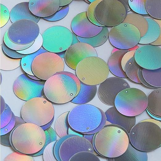 Silver Reflective Sequin Parasol