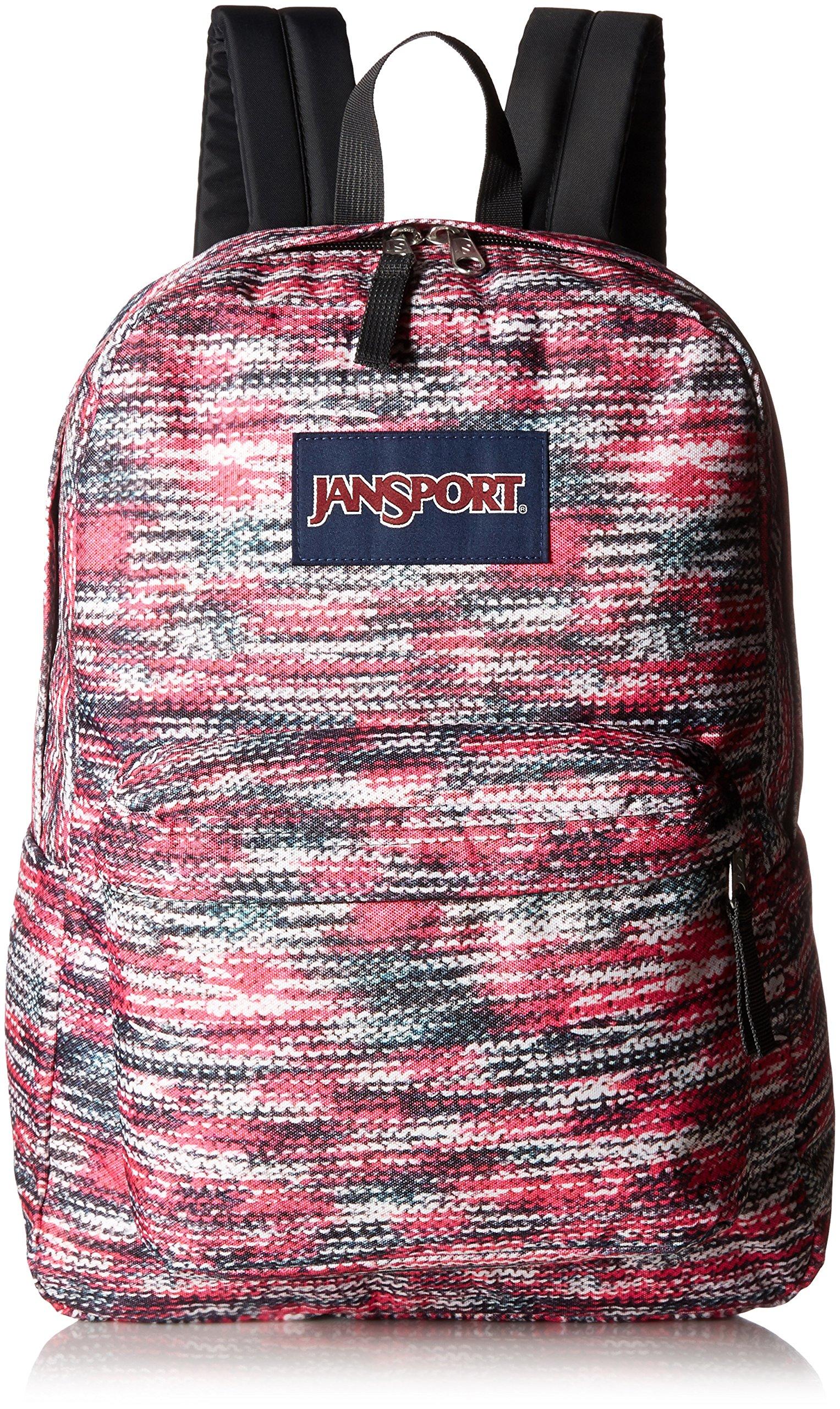 JanSport Unisex SuperBreak Multi Sweater Knit Backpack