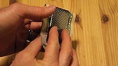 Amazon.com: Cartera de fibra de carbono con clip para ...