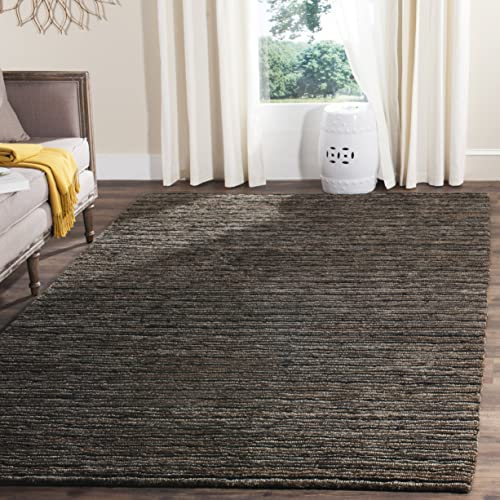Safavieh Organica Collection ORG215A Hand-Knotted Charcoal Wool Area Rug 9' x 12'