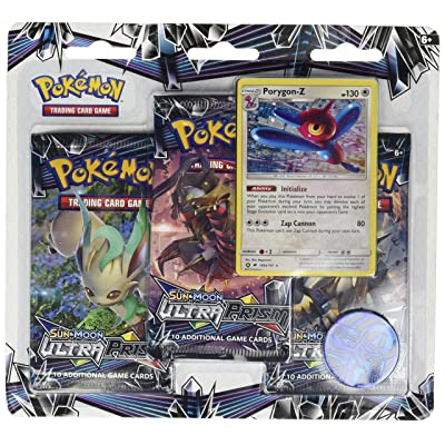 Pokemon TCG: Sun & Moon Ultra Prism Three-Booster Blister: Toys & Games