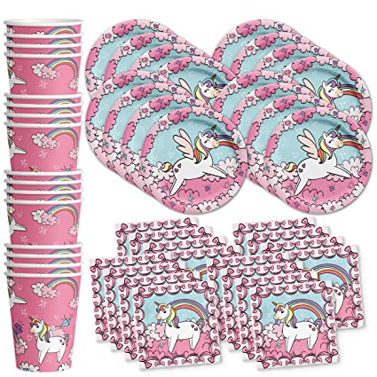 Amazon.com: Birthday Galore Set de suministros para fiesta ...