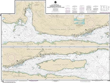 Amazon.com: NOAA Chart 17430 Tongass Narrows: 35.4