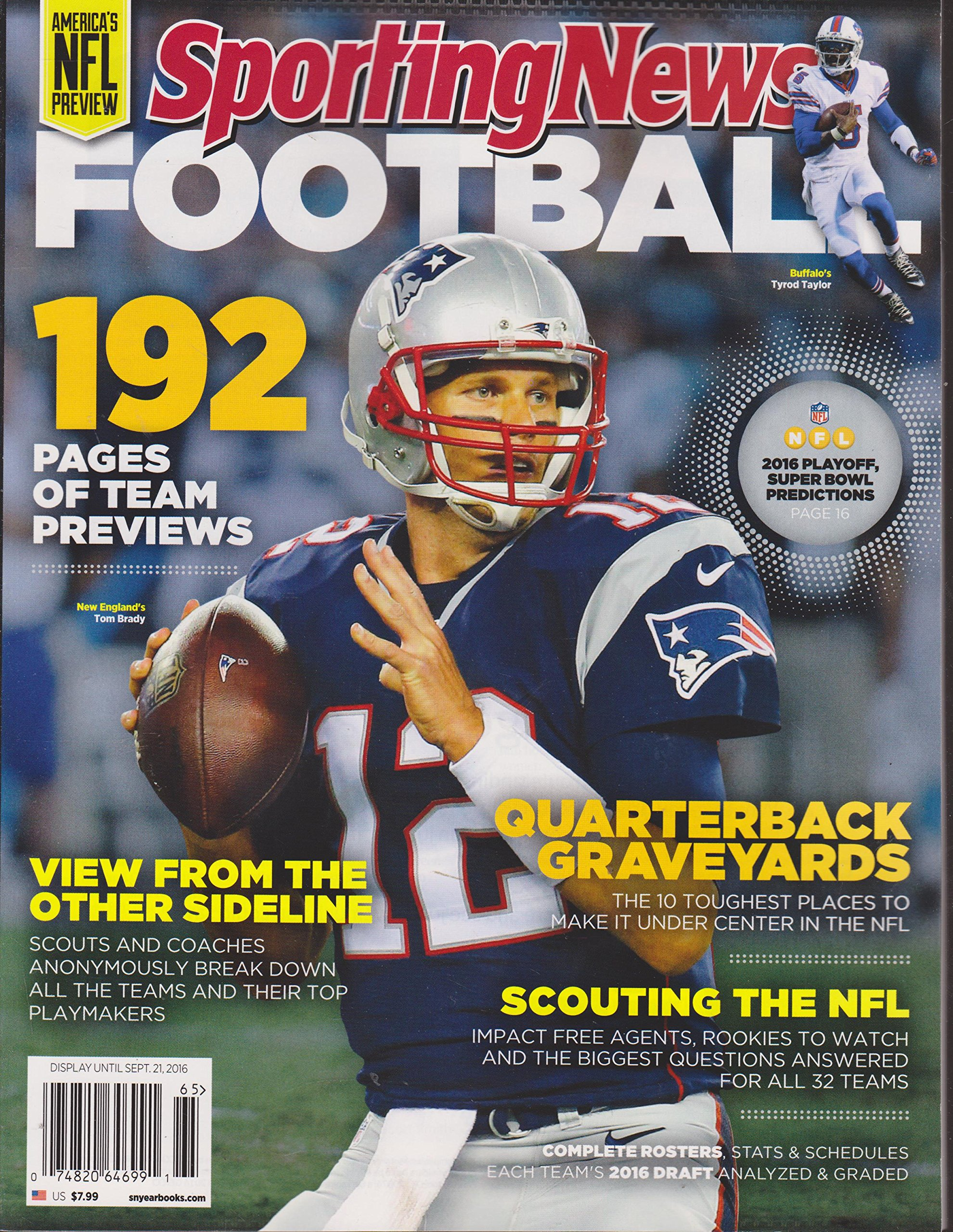 Sporting News Pro Football 2016 Magazine ebook