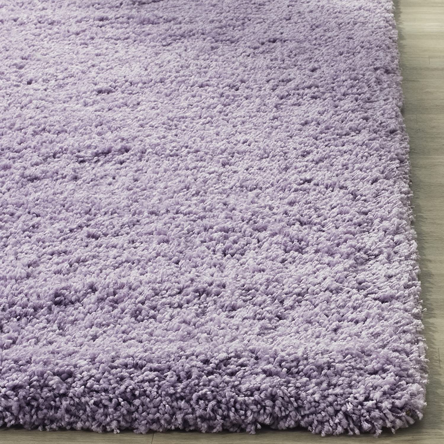amazoncom safavieh california shag collection sg1517272 lilac area rug 8u0027 x 10u0027 home improvement