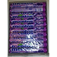 EUROPE MENTOS Grape Flavor - 20 Rolls 20 x 37.5g