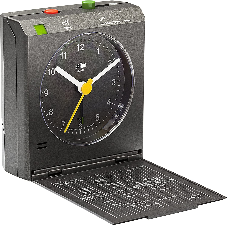 Braun BNC005 Despertador, Gris: Amazon.es: Hogar
