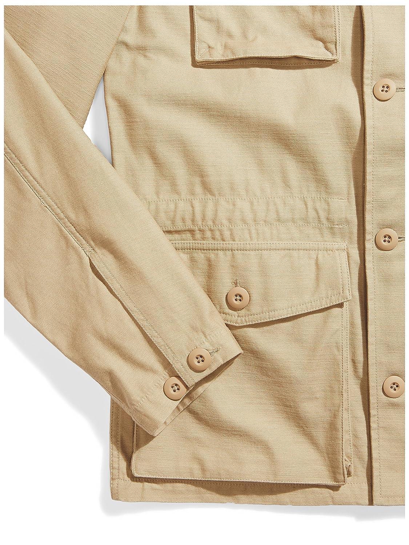 Goodthreads Mens Lightweight Military Jacket