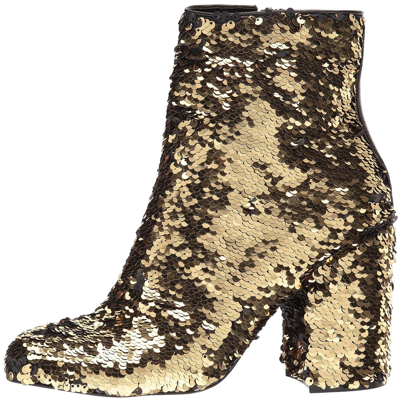 Steve Madden Women's Georgia-s Ankle Boot B075NQ5FCL 6 B(M) US|Gold Sequin