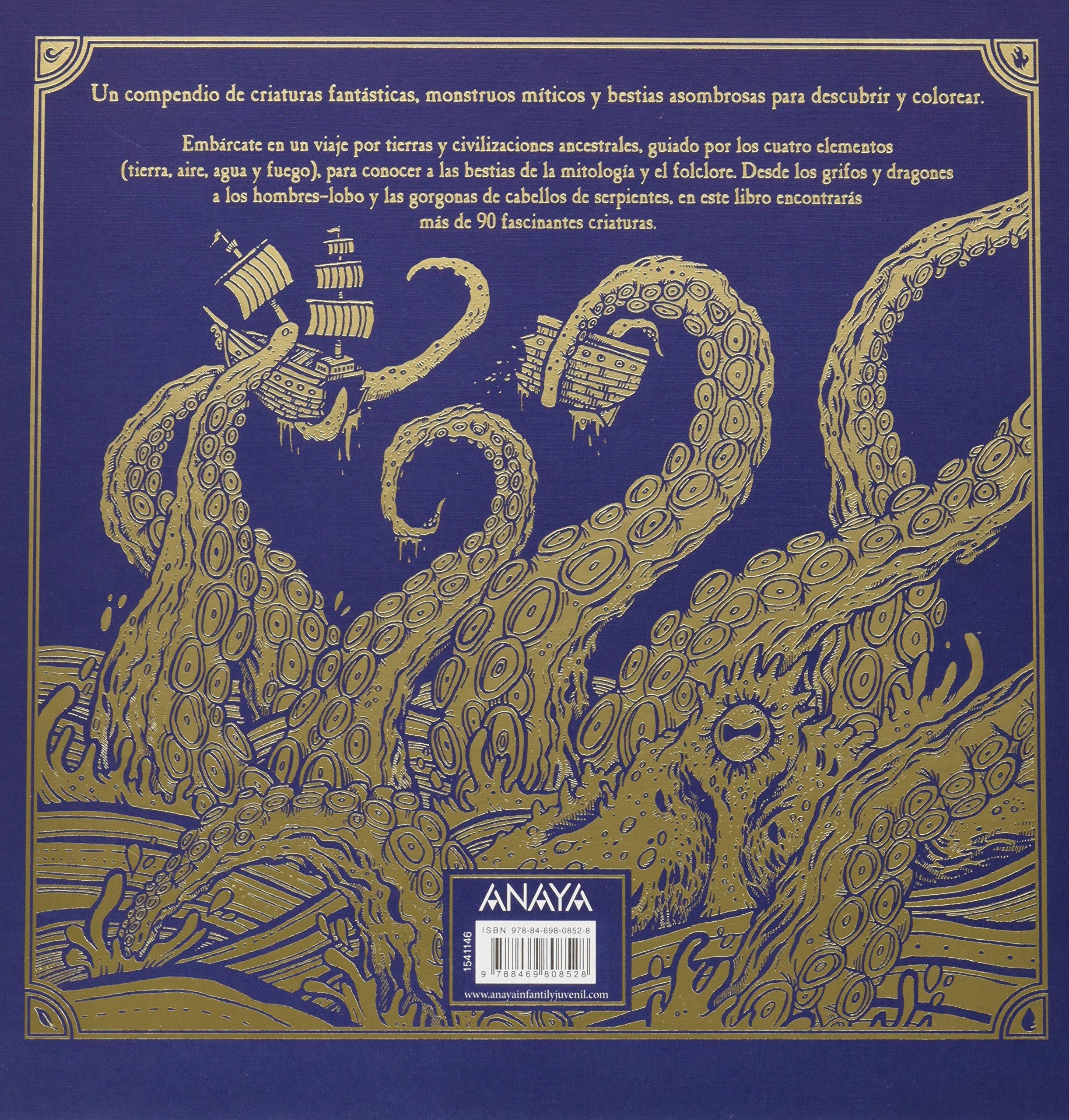 El libro de las bestias. Descubre y colorea: Jonny Marx ...