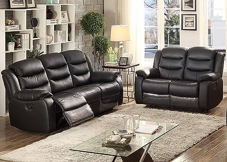 Tremendous Amazon Com Christies Home Living Bennet Blk 2Pc Set 2 Piece Dailytribune Chair Design For Home Dailytribuneorg