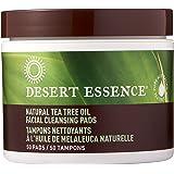 Desert Essence Tea Tree Oil Facial Cleansing Pads (2pk) 50 Count