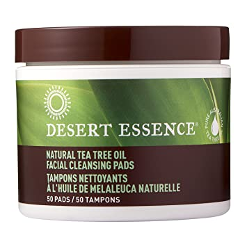 Amazon Com Desert Essence Tea Tree Oil Facial Cleansing Pads 50