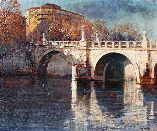 Angel s Bridge on the Tiber-Rome
