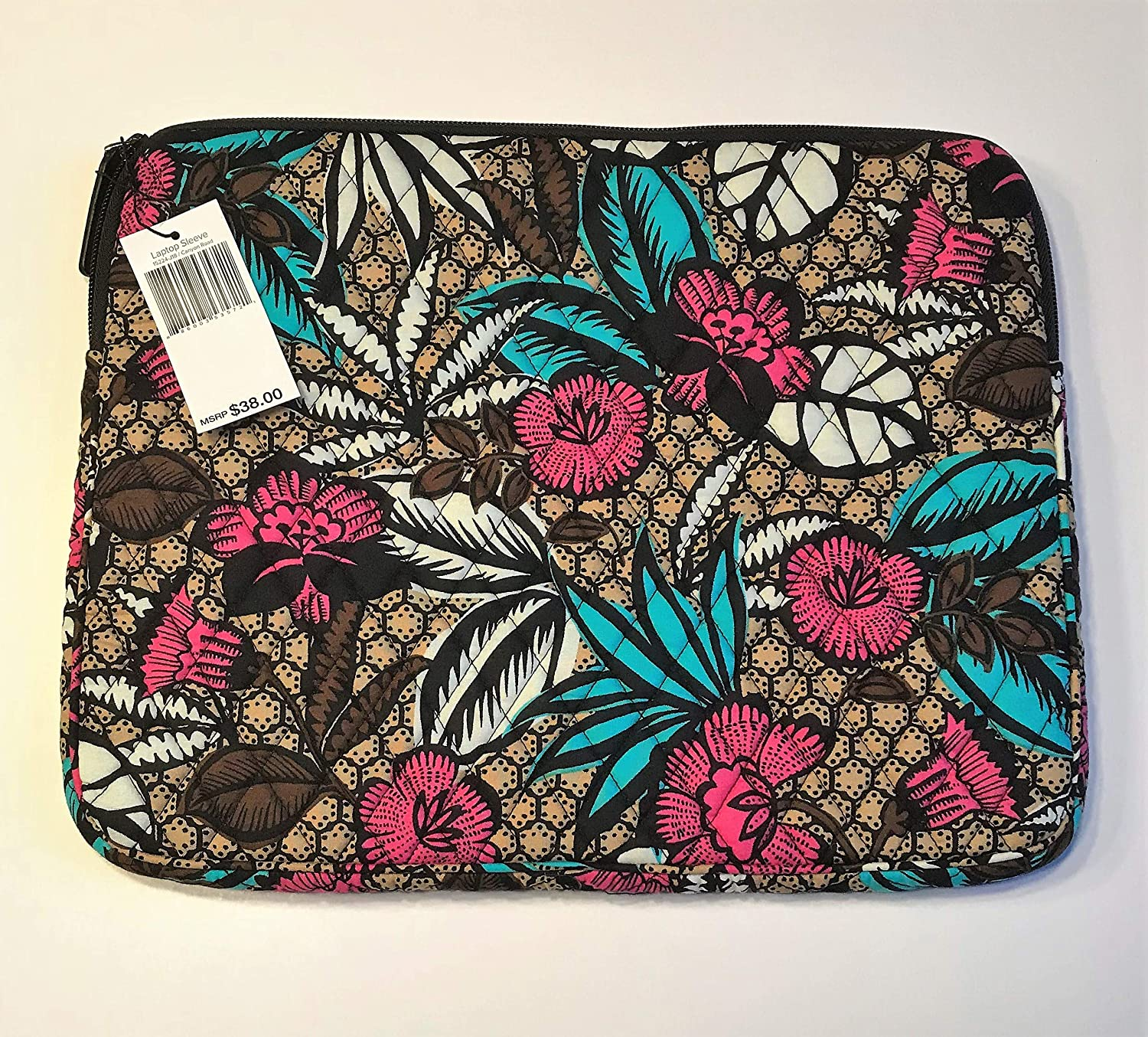 Vera Bradley Laptop Sleeve - Canyon Road