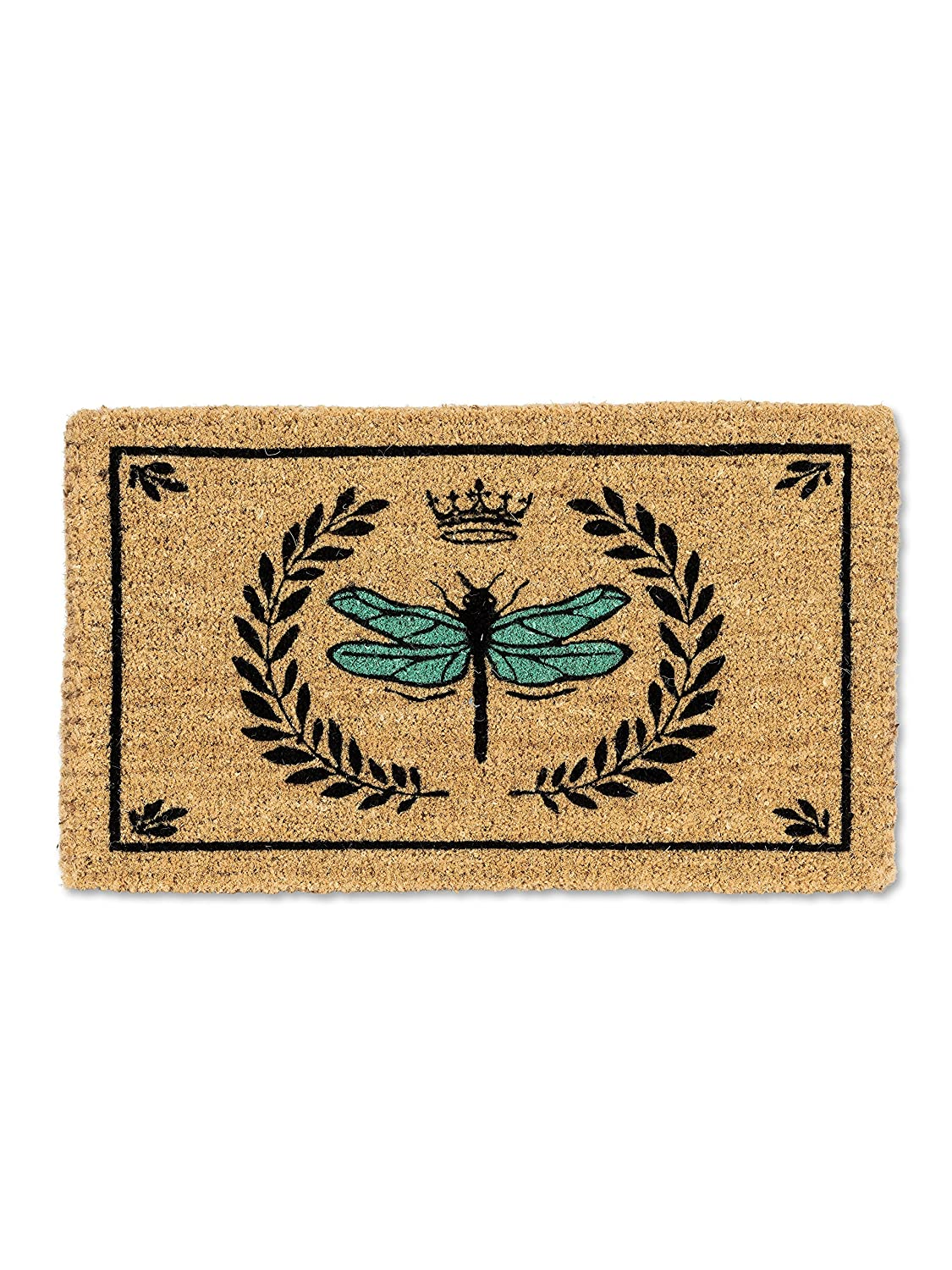 Abbott Collection 35-FWD//GE 7907 Dragonfly in Crest Doormat-18X30 L