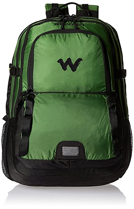 d84c67bad0 Wildcraft HypaDura 36 liters Green Casual Backpack (8903338037064)  Amazon. in  Bags