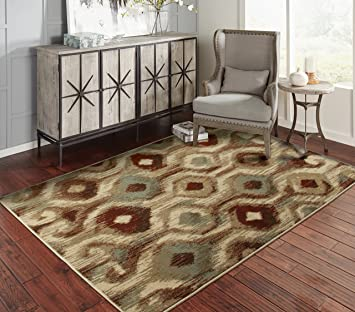 Amazon Com A S Quality Rugs Modern Rugs For Living Room 5x7