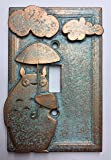 My Neighbor Totoro Light Switch Cover (Aged Patina)