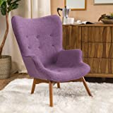 Acantha Muted Purple Contour Chair