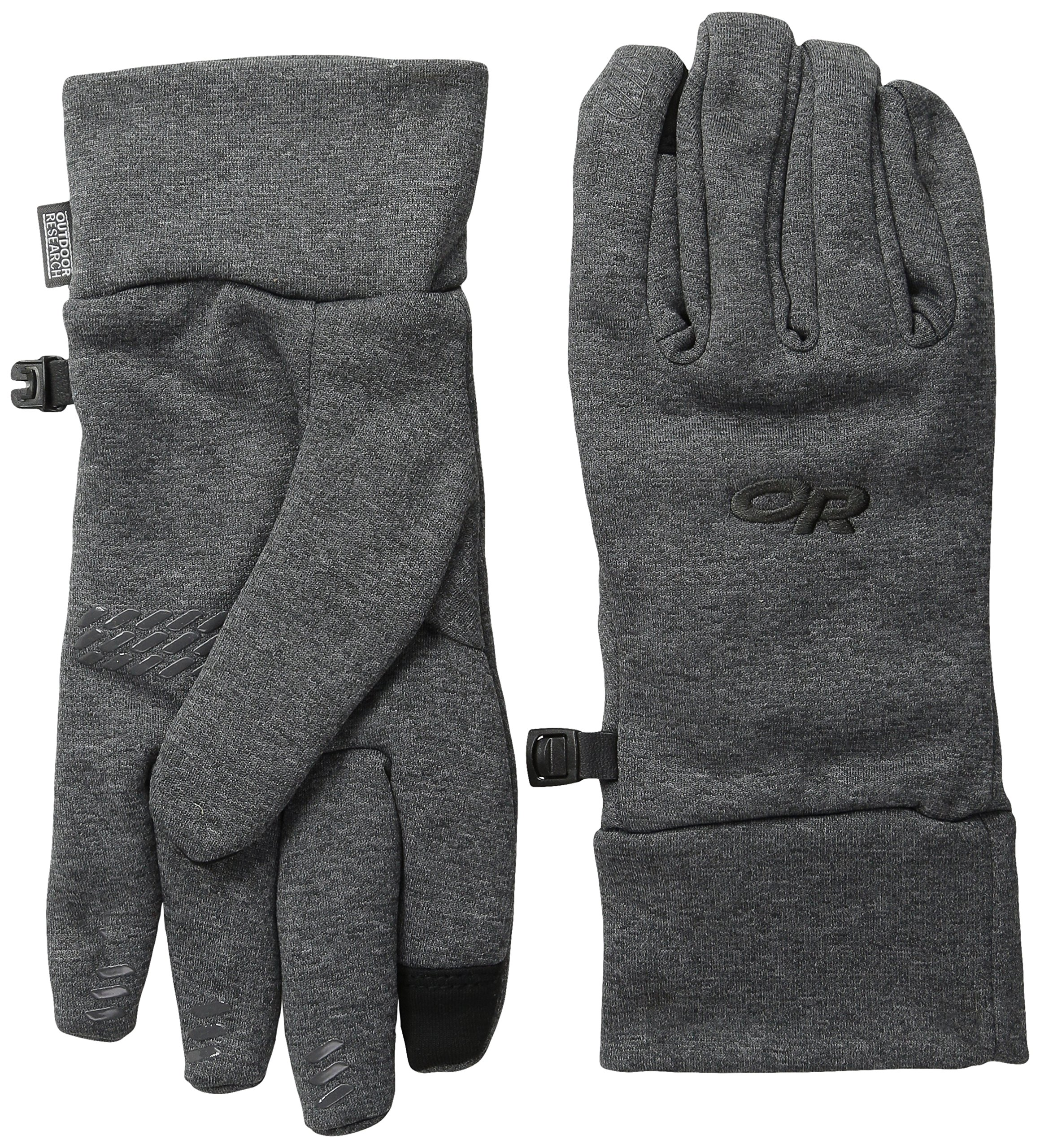 Outdoor Research Women's PL400 Sensor Gloves, Charcoal Heather, Medium