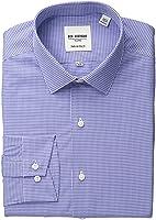Ben Sherman Men's Slim Fit Gingham Dress Shirt