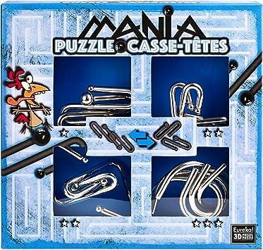 Eureka 3D 473203 Puzzles 3D – Puzzle Mania: Amazon.es: Juguetes y ...