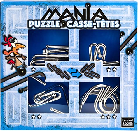 Eureka 3D 473203 Puzzles 3D – Puzzle Mania: Amazon.es: Juguetes y juegos