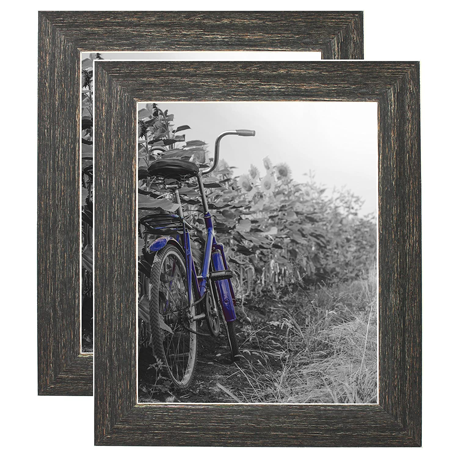 Amazon.com - Americanflat 2 Pack - 8x10 Barnwood Rustic Picture ...