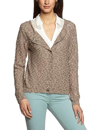 2e4a339e4405 Cream - Chemise Femme - Turnable Pullover - Marron (Mushroom Copper) - FR