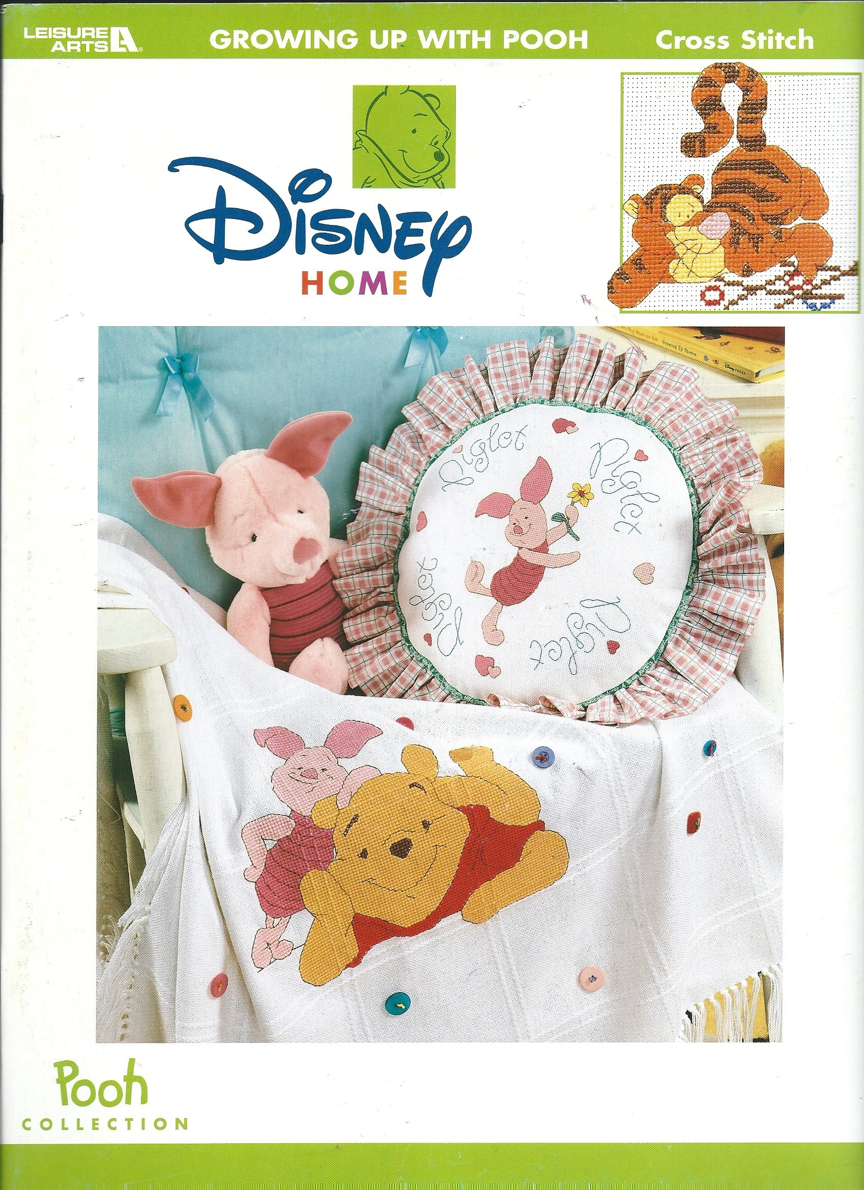 Disney Home: Growing Up with Pooh Cross Stitch (Leisure Arts Pooh Collection, 3343)